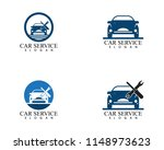 auto car service logo design... | Shutterstock .eps vector #1148973623