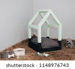 contemporary dog house | Shutterstock . vector #1148976743