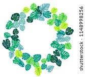aquamarine tropical jungle...   Shutterstock .eps vector #1148998256
