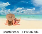 Summer Beach Photo Woman Vacation - Fine Art prints