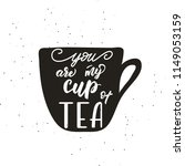 lettering poster for kitchen ... | Shutterstock .eps vector #1149053159