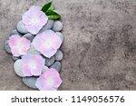 close up view of zen stones... | Shutterstock . vector #1149056576