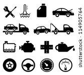 car  mechanic  repair and... | Shutterstock .eps vector #114905764