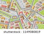 vector illustration. city top...   Shutterstock .eps vector #1149080819