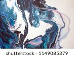 marbling. marble texture. paint ... | Shutterstock . vector #1149085379