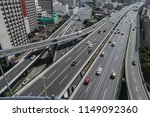 aerial view of highway and... | Shutterstock . vector #1149092360