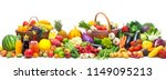 fresh vegetables and fruits... | Shutterstock . vector #1149095213