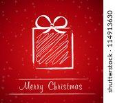 Christmas Gift Frame. Christma...