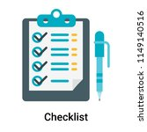 checklist icon vector isolated...