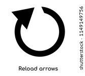 reload arrows icon vector...