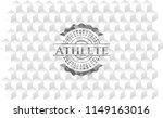 athlete retro style grey emblem ...   Shutterstock .eps vector #1149163016