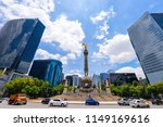 the angel of independence ... | Shutterstock . vector #1149169616