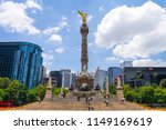 the angel of independence ... | Shutterstock . vector #1149169619