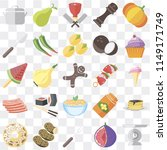 set of 25 icons such as scale ...