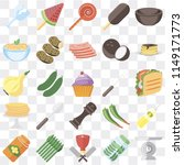 set of 25 icons such as scale ... | Shutterstock .eps vector #1149171773