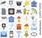 set of 25 icons such as smart ...