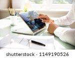 close up of a businessman's... | Shutterstock . vector #1149190526