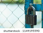 Padlock On The Fence