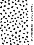 trendy handdrawn checkered... | Shutterstock . vector #1149219953
