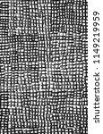 trendy handdrawn checkered... | Shutterstock . vector #1149219959