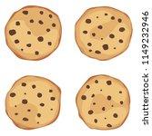 vector illustration of oatmeal... | Shutterstock .eps vector #1149232946