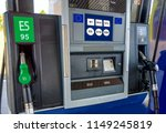 fuel pumps at the petrol... | Shutterstock . vector #1149245819