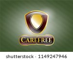 gold emblem or badge with... | Shutterstock .eps vector #1149247946