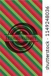 extended warranty christmas... | Shutterstock .eps vector #1149248036