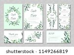 eucalyptus design. wedding... | Shutterstock .eps vector #1149266819