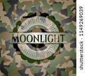 moonlight written on a...   Shutterstock .eps vector #1149269039