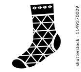 triangular sock icon. simple...   Shutterstock .eps vector #1149270029