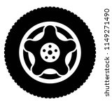 star shaped wheel is here to... | Shutterstock .eps vector #1149271490