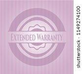extended warranty retro style... | Shutterstock .eps vector #1149274100