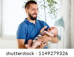 worried and frustrated young... | Shutterstock . vector #1149279326