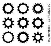 gear vector set  | Shutterstock .eps vector #1149282380