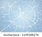 ice texture on transparent... | Shutterstock .eps vector #1149288176