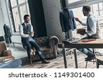 turning ideas into clothing....   Shutterstock . vector #1149301400