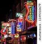 historic downtown broadway... | Shutterstock . vector #1149310679