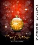 Shiny Golden Christmas Ball  ...