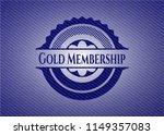 gold membership denim background | Shutterstock .eps vector #1149357083