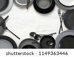 monochrome black and grey... | Shutterstock . vector #1149363446