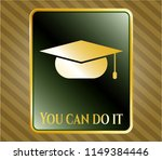 gold shiny badge with... | Shutterstock .eps vector #1149384446