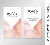 business card design with... | Shutterstock .eps vector #1149398423