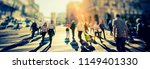 crowd of anonymous people...   Shutterstock . vector #1149401330
