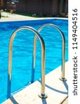 pool stairs with blue water   Shutterstock . vector #1149404516