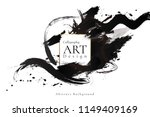 abstract ink background.... | Shutterstock .eps vector #1149409169