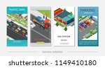 isometric car service vertical... | Shutterstock .eps vector #1149410180