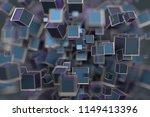 abstract 3d rendering of... | Shutterstock . vector #1149413396