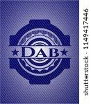 dab jean or denim emblem or... | Shutterstock .eps vector #1149417446