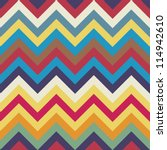 seamless chevron pattern | Shutterstock .eps vector #114942610